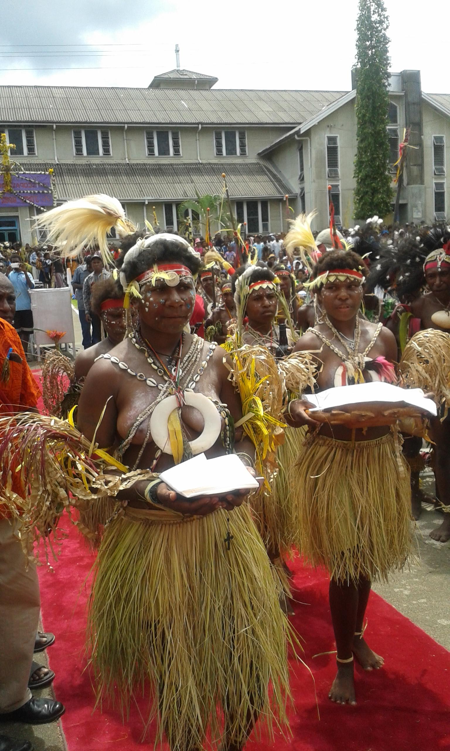 Під час католицької Святої Меси на Папуї