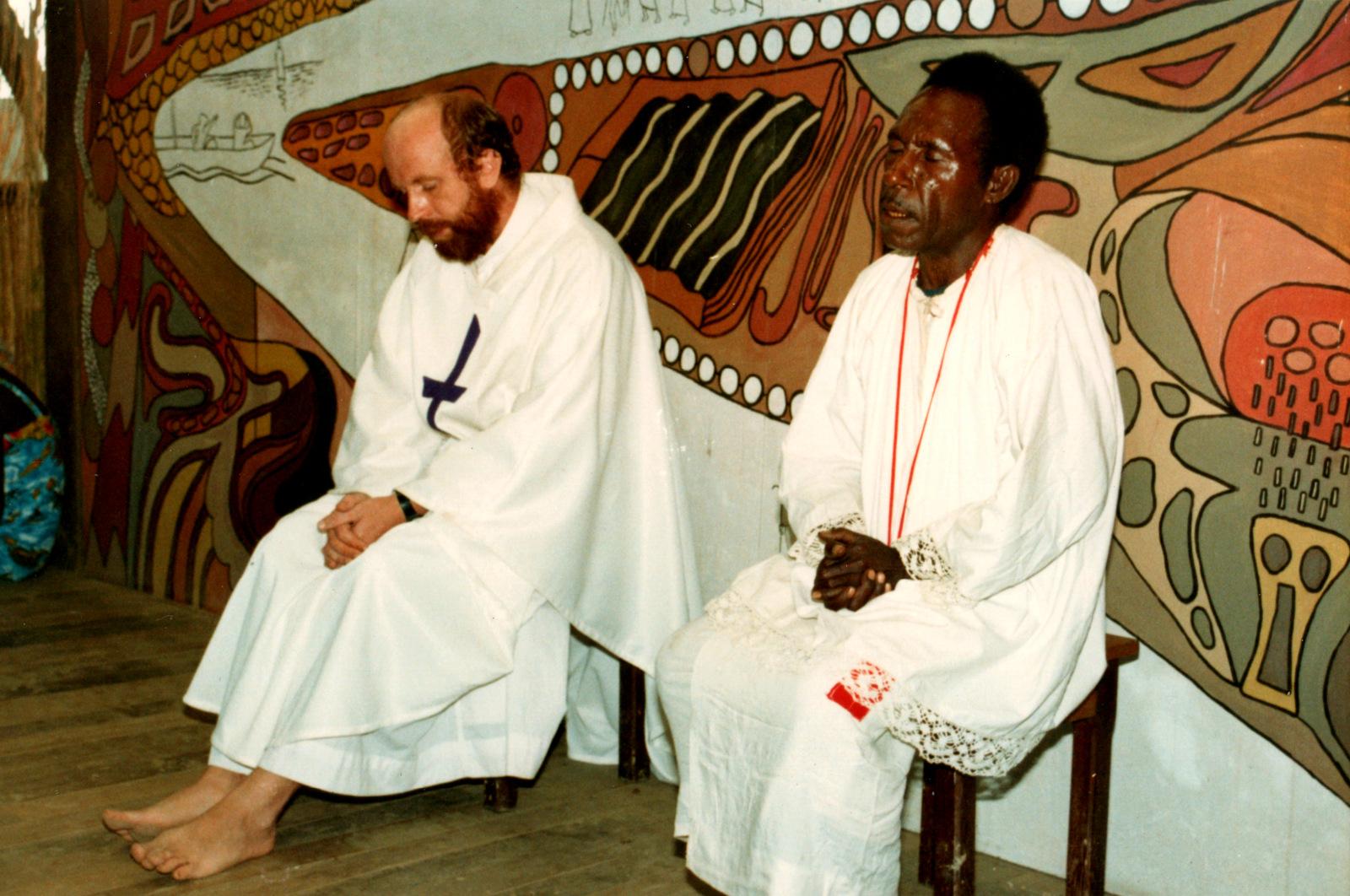 Під час служіння на Папуї
