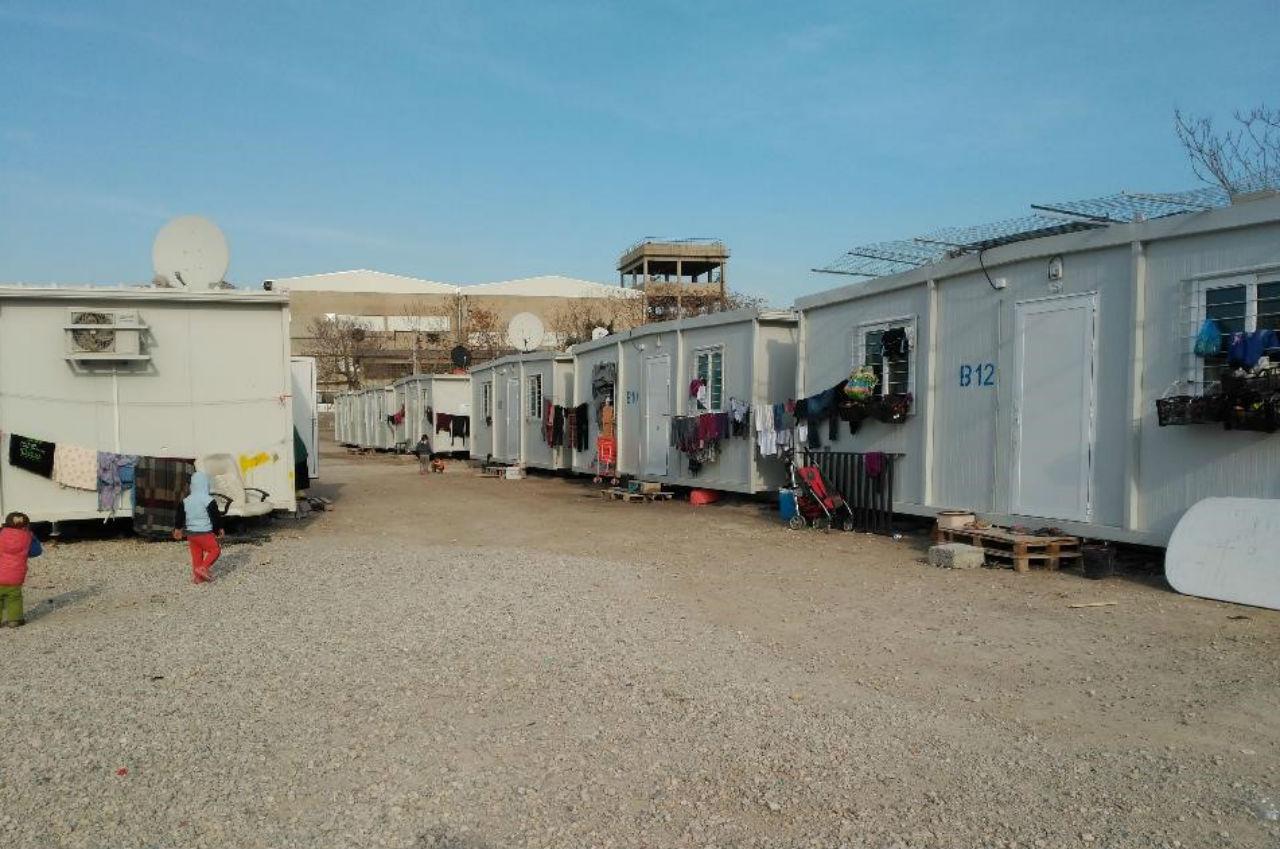 """""""Найкращий"""" табір для бужнців Афін, де живе 2000 людей"""