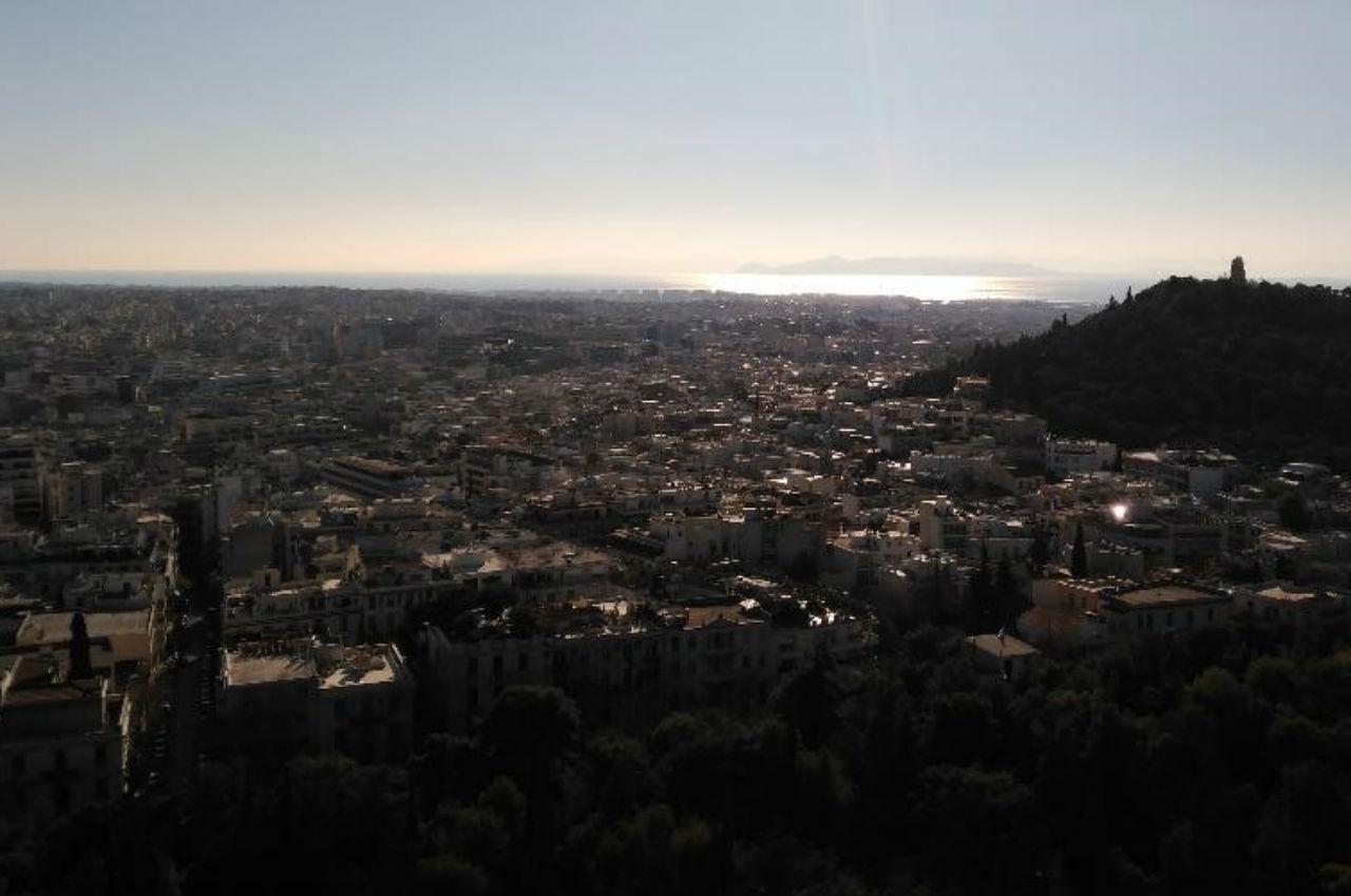 Вигляд на море. Афіни.