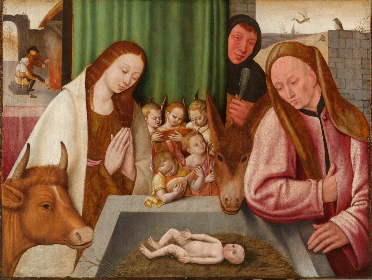 """""""Різдво"""", Єронімус Бош, 16 ст., Голландія"""