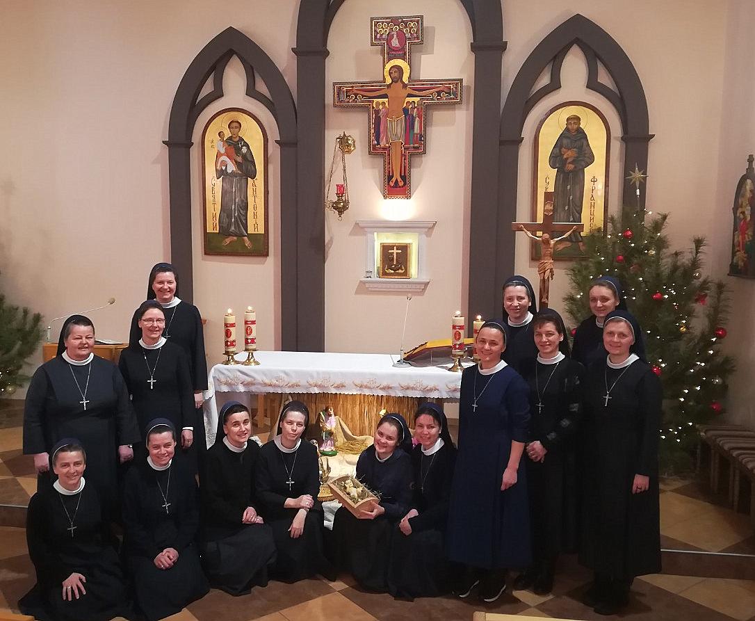 Колядування сестер у Борисполі