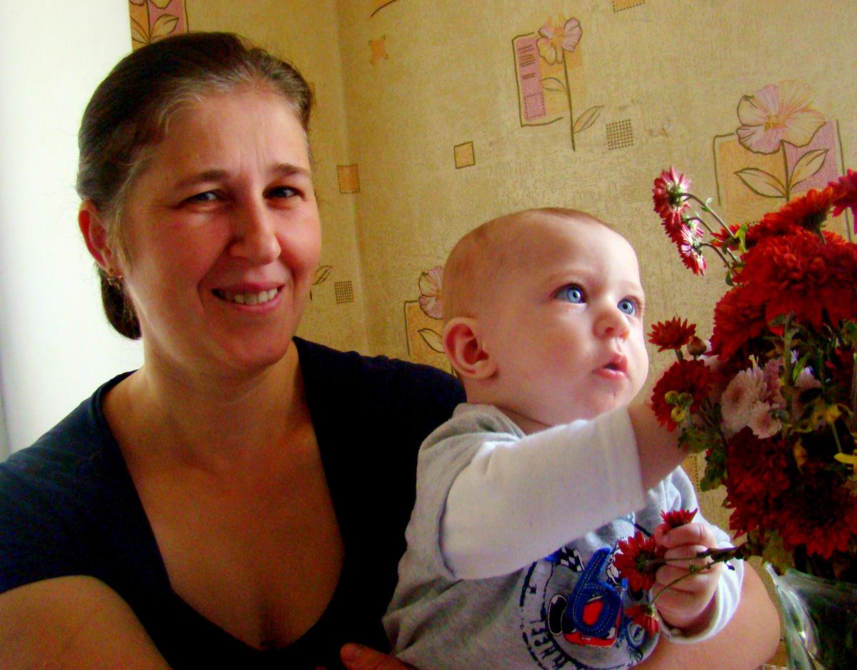 Наталія, баагатодітна матір